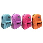 """17"""" Arctic Star Solid Color Backpacks"""