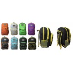 "19"" Two-Tone Wholesale Backpacks $6.75 Each"