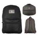 "17"" Eaglesport All Black Backpack $4.25 Each"