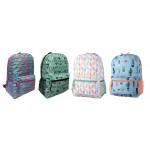 "17"" Arctic Star Printed Backpacks"