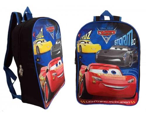 """15"""" Cars 3 Backpack $6.50 Each."""