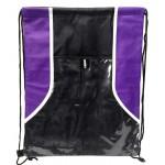 Drawstring Bags Black/Purple