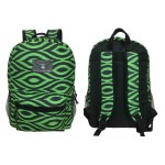 "16"" IKAT Printed Backpacks"