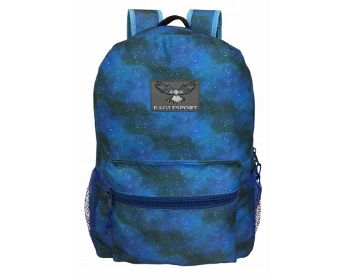 "15"" Galaxy Print Backpack $4.25 Each"