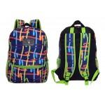 "16"" Multicolored Ribbons Designer Backpacks"