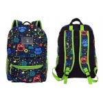 """16"""" Multicolored Owls Designer Backpacks"""