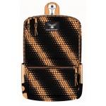 """16"""" Orange Dots Designer Backpacks"""