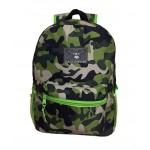 "15"" Green Camo Backpack $4.00 Each"