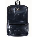 "16"" Lightning Storm Printed Backpacks"