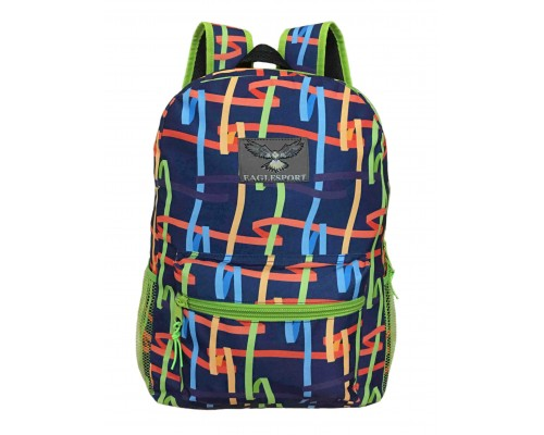 "15"" Multi Color Ribbon Backpack $4.00 Each"