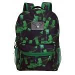 """17"""" Eaglesport Black & Green laser Backpack $4.75 Each"""