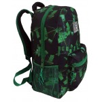 "18"" Green Laser Wholesale Backpacks $5.25 Each."