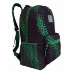 "18"" Green Dots Wholesale Backpacks $5.25 Each."