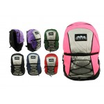 """17"""" Corded Backpacks - Bulk Case of 24"""
