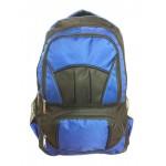 """18"""" Wholesale Backpacks Blu/Blk $7.75 Each."""
