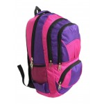 """18"""" Wholesale Backpacks Pink/Purple $7.75 Each."""
