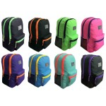 "19"" Two Tone Backpack $7.25 Each"