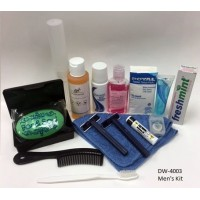 Men's Hygiene Kit $6.00 Each.