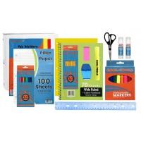 Bulk 47 Piece School Supply Kit - Elementary