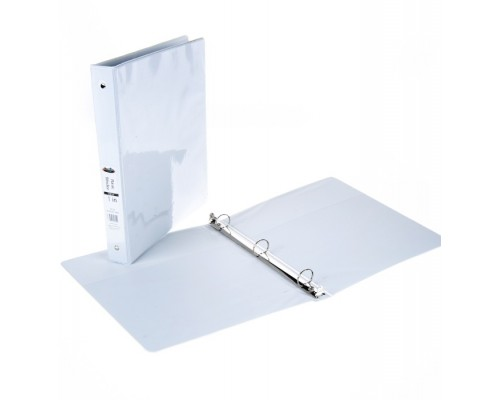 "1"" 3 Ring White View Binder $1.75 Each."