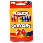 24 Pack Playskool Crayons