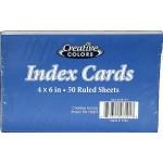 """4"""" x 6"""" Index Cards"""
