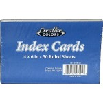 "Index Cards 4"" x 6"" $1.09 Each"