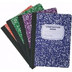 Wide Ruled Composition Notebooks $0.85 Each