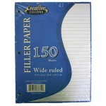Wide Ruled Notebook Paper $0.95 Each.