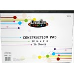 36 Sheet Construction Pad $0.84 Each.
