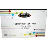 Construction Paper Pad $0.84 Each.