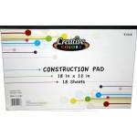 Construction Paper Pad $0.84 Each.