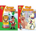 School Zone Puzzles & Activities