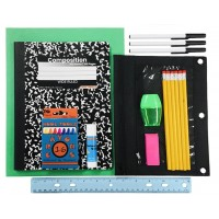 Wholesale 10 Pc. School Supply Kit $4.00 Each.