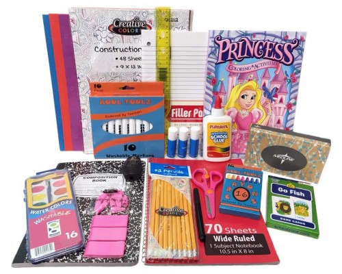 Wholesale Primary School Supply Kit $11.50 Each.