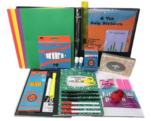 Wholesale Elementary School Supply kit $11.50 Each.