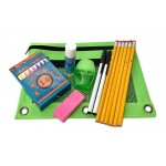 Wholesale School Supply Pouch Kit $2.60 Each.