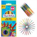 Dual Colored Pencils 12ct. Paper Mate