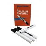 Dry Erase Markers Black 12ct. Chisel Tip