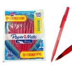 12ct. Paper Mate Red Pens