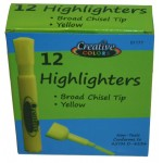 Yellow Highlighter $0.25 Each