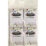 8 Pack 4ct. Bulk Crayons
