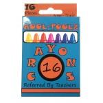 16 Pack Kool Toolz Crayons