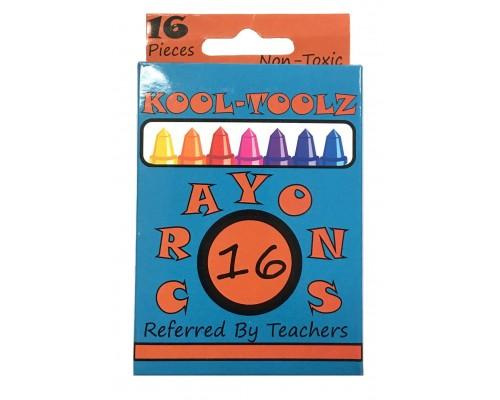 16 ct. Premium Crayons $0.45 Each.