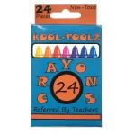 24 Pack Kool Toolz Premium Crayons