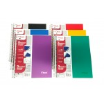 3 Subject Mead Spiral Notebooks Wide Ruled