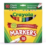 10 Pack Crayola Broad Markers