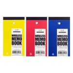 "3"" x 5.5"" Wireless Memo Pad"