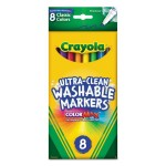 8 Pack Crayola Washable Markers ColorMax