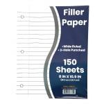 150 Pack Filler Paper Wide Ruled